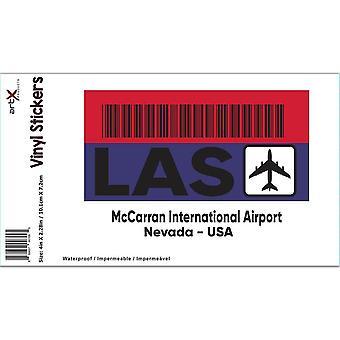 ملصق هدية: الولايات المتحدة الأمريكية ماكاران مطار نيفادا لاس السفر