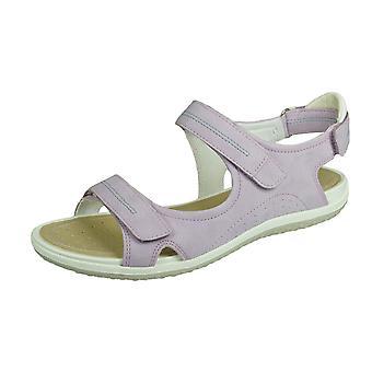 Geox D Sand Vega Womens Sandals - Lilac