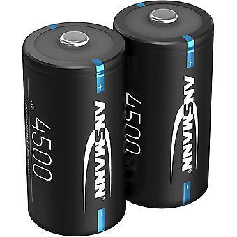 FengChun Akku C 4500mAh NiMH 1,2V - Baby C Batterien wiederaufladbar mit geringer Selbstentladung