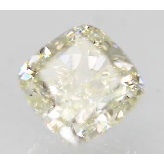 Sertifioitu 0,74 karat I väri VVS2 tyyny Natural Loose Diamond 4.84x4.82mm