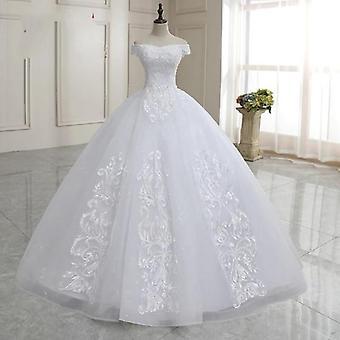Шапка Рукава Красивый Бисер Кружево Свадебное платье
