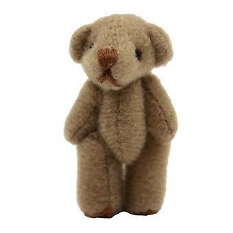 Dolls House Large Brown Teddy Bear Miniatura Cuddly Toy Nursery Shop Acessório
