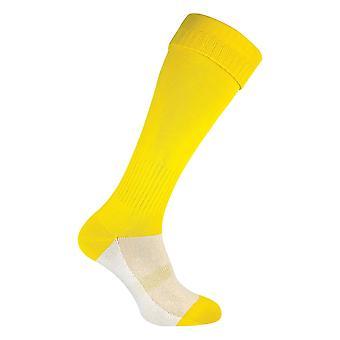 Mens coloured knee high sports football socks