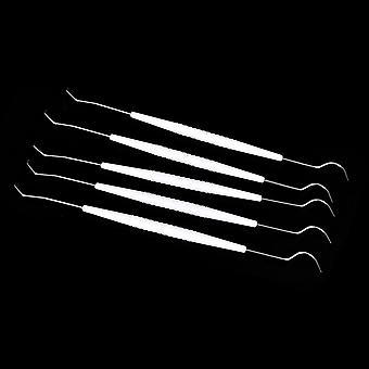 EinmaligedoppelHaken temporäre Edelstahl Zahnarzt Werkzeug Set
