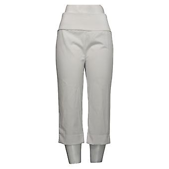 Antthony Women's Pants Reg Boss Lady Pedal Pusher White 747085