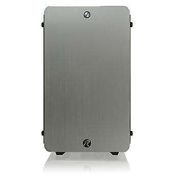 Raijintek Thetis Aluminium ATX Cube - Silver Window