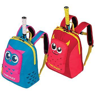 Huvud barn ryggsäck - röd / gul