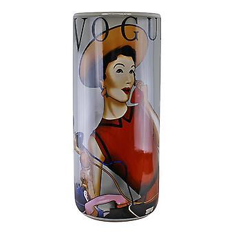 Paraplustandaard, Vogue-ontwerp met gratis vaas
