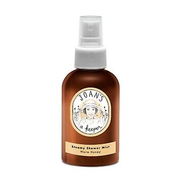 Joans A Keeper Steamy Shower Mist Warm Honey, 4 Oz