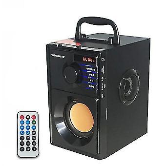 VAENSONG A10 Sztereó Fa Mélynyomó Super Bass FM Rádió bluetooth hangszóró