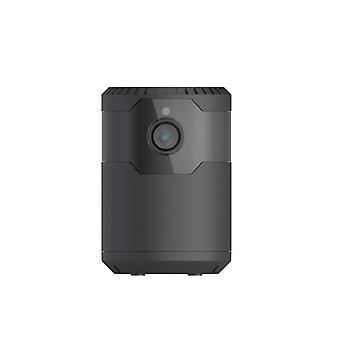 كاميرا تجسس مصغرة 1080P HD كاميرا خفية مع الرؤية الليلية واي فاي الكشف عن الحركة الصغيرة اللاسلكية شاكر مربية رئيس الكاميرا، ومناسبة للمنزل، في الداخل والخارج (أسود)