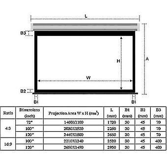 Projection screens screen portable hd foldable projector for home theater outdoor indoor