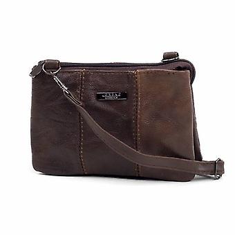Ladies Compact Shoulder Multi Pocket Handbag