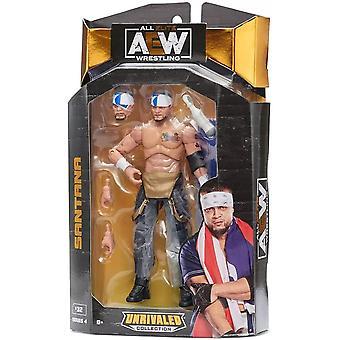 AEW All Elite Wrestling Vertaansa vailla kokoelmasarja 4 Santana