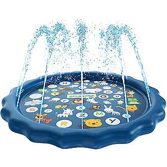 Aire de jeux d'eau, gicleurs pour enfants et pataugeoire pour les enfants apprenants Piscine de gicleurs