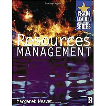 Resource Management : Part of Team Leader Development
