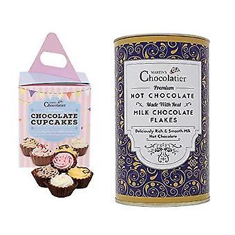 Chocolate Cupcakes & Hot Chocolate | Drinking Chocolate | Flavoured Chocolates | Chocolate Gift | Chocolate Bundle