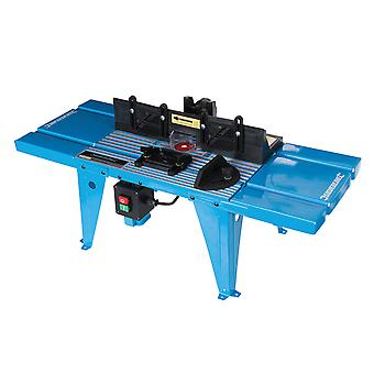 Silverline 460793 DIY Router Table med Protractor 850 x 335mm Storbritannien
