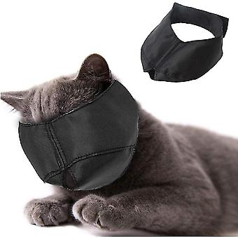 Cat furniture accessories nylon cat muzzle - cat muzzle - pet grooming accessory - prevents scratches and bites - size l