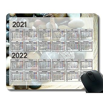 Keyboard mouse wrist rests 220x180x3 calendar for 2021 gaming mouse pad custom seahorse starfish mouse pad with stitched edge