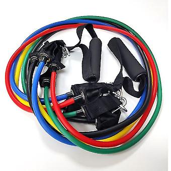 Exercise bands exercise fitness pull rope 11 pcs