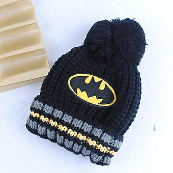 Superman Batman Spideman Knitted Hat Cap Model Game Hip Hop Hat Keep Warm Gift Toys Child Gift