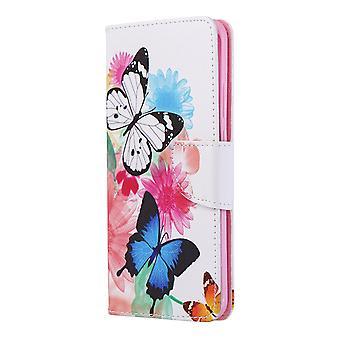 Fall für Huawei P40 Pro Muster zwei Schmetterling
