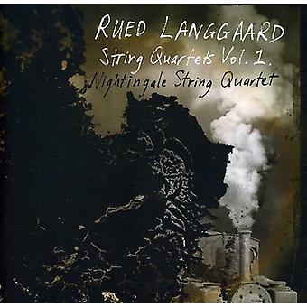 R. Langgaard - Rued Langgaard: String Quartets, Vol. 1 [SACD] USA import