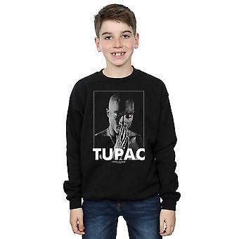 2Pac लड़कों Tupac शकुर प्रार्थना कर Sweatshirt