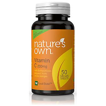 Natures Own Food State Vitamin C, 50 vegan tablets
