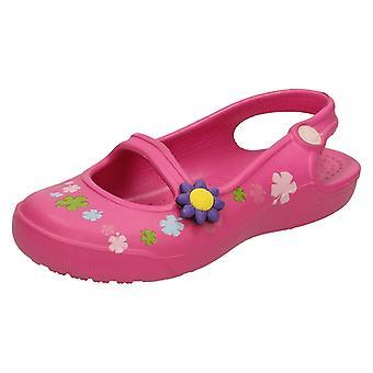 Девочек Crocs Габби цветы