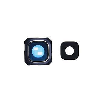 Samsung S6 Edge Plus Kamera-Objektiv-Abdeckung mit Linse (Glas)-blau