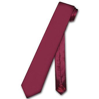 "Biagio 100% SILK Narrow NeckTie Skinny Men's 2.5"" Neck Tie"