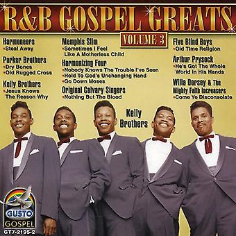 R&B Gospel - Vol. 3-R&B Gospel [CD] USA import