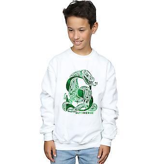 Harry Potter Boys Slytherin Snake Sweatshirt