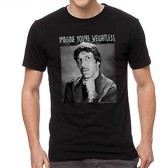 Napoleon Dynamite Imagine Weightless Men's Black Funny T-shirt