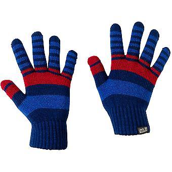 Jack Wolfskin Boys & Girls Light Warm Winter Cross Knit Gloves