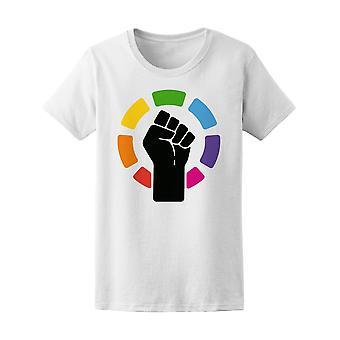 Pride hbt-Protest knytnäve Symbol Tee kvinnors-bild av Shutterstock