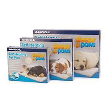Ancol sömnig tassar själv värme Pet Pad för hund och katt, S