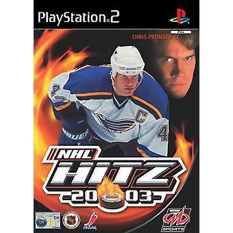 NHL HITZ 2003 (PS2) - Nieuwe fabriek verzegeld