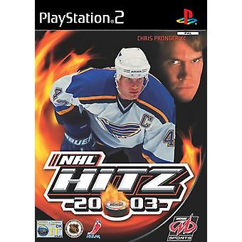 NHL HITZ 2003 (PS2) - New Factory Sealed