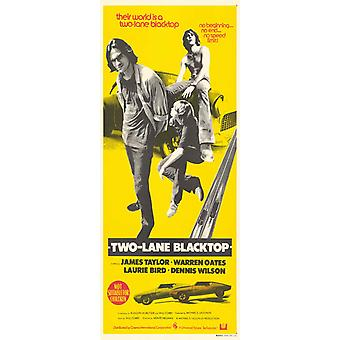 Two Lane Blacktop Movie Poster (11 x 17)