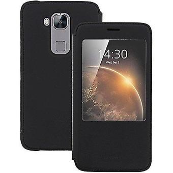 Huawei мнение Обложка Обложка сна и Звонок функции для Huawei G8 - черный