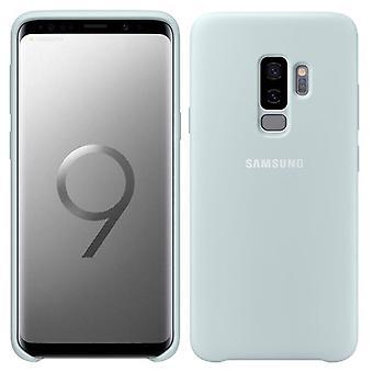 Samsung Silicone Cover EF-PG965TLEGWW für Galaxy S9 Plus G965F Tasche Hülle Case Blau