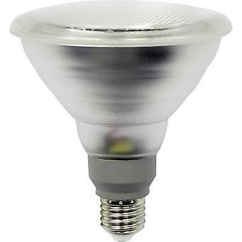 LightMe LM85123 LED (monochrome) EEC A (A++ - E) E27 Reflector 12 W = 90 W Warm white (Ø x L) 122 mm x 138 mm 1 pc(s)