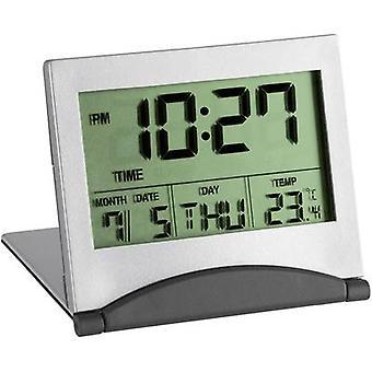 TFA Dostmann 98.1054 Quartz Alarm clock Silver