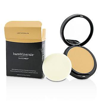 Bareminerals Barepro Performance Wear Powder Foundation - # 09 Light Natural (box Slightly Damaged) - 10g/0.34oz