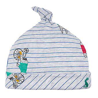 Joule Baby Koo G einzelne Knoten Hut grauen Bär Streifen