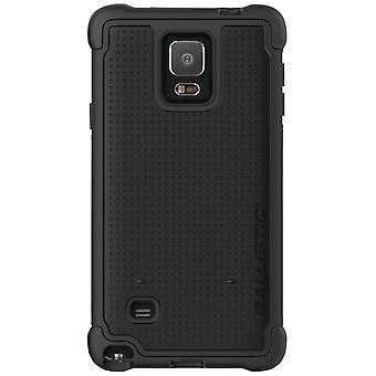 Balistice Tough Jacket cauza pentru Samsung Galaxy Note 4 (Negru) - TJ1491-A06C
