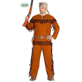 Traje de caçador mens Brown traje do senhor Hunter Ranger